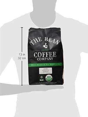 The Bean Coffee Company Organic Latin Blend, Medium Roast, Ground, 16-Ounce Bag