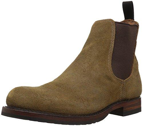FRYE Men's Logan Chelsea Ankle Bootie, Chestnut, 7.5 D US (Logan Boots Frye)