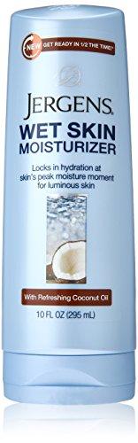 Jergens Wet Skin Moisturizer, Coconut Oil, 10 Ounce
