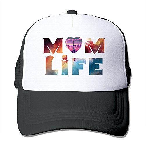 Lovely Men And Women Mom Life Adjustable Baseball Cap Hip Hop Snapback Hat - Hats Ti