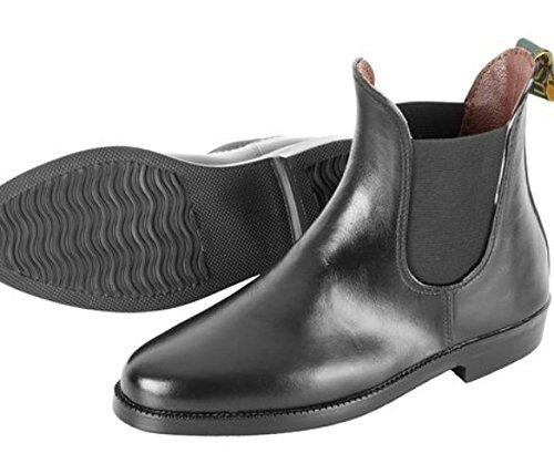 USG womens short black leather looking jodphur boots . ktQz0Zn