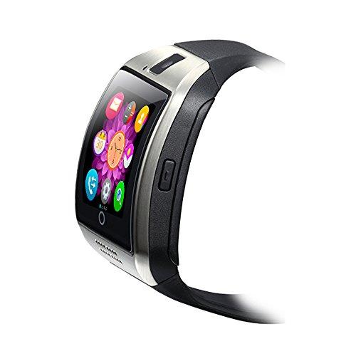 Antimi-SmartWatch-Sweatproof-Smart-Watch-Phone-for-Android-HTC-Sony-Samsung-LG-Google-Pixel-Pixel-and-iPhone-5-5S-6-6-Plus-7-Smartphones-Black