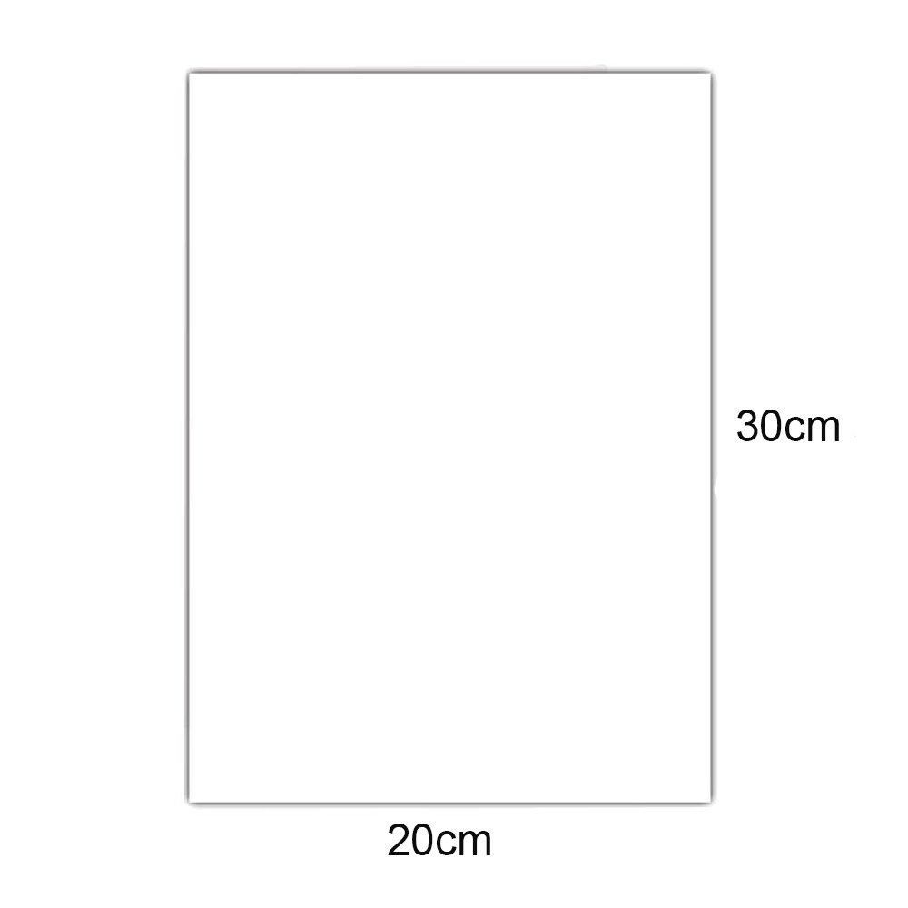 Printable Heat Transfer Vinyl Inkjet Printer Iron on HTV for Dark Fabrics or T-Shirts A4 Size Pack of 10