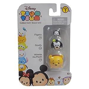Disney Tsum Tsum 3 Pack – Figaro (119), Goofy (108), Winnie the Pooh (148)