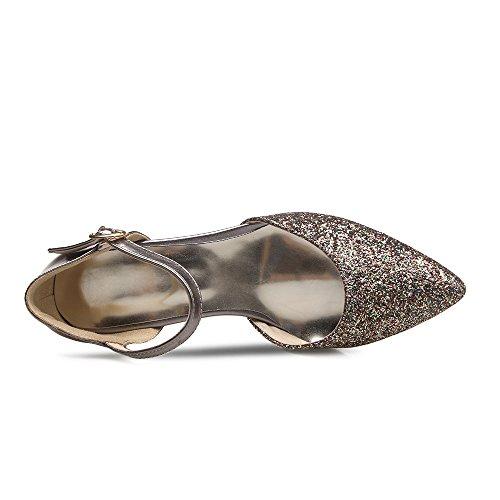 Fashion Heel - Zapatos de tacón  mujer gris