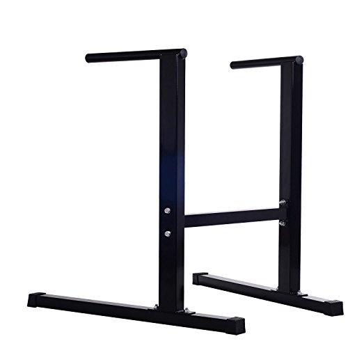Dipping Station Dip Bar Self Standing Pull Push Up Body Fitness Exercise Workout With Ebook by MRT SUPPLY