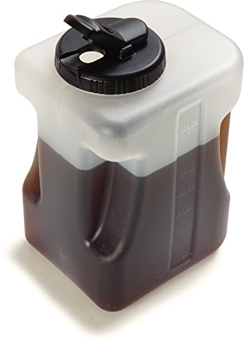 For Sale! Carlisle 640000 Plastic Container / Jug with Lid, 1 Gallon (Pack of 2)