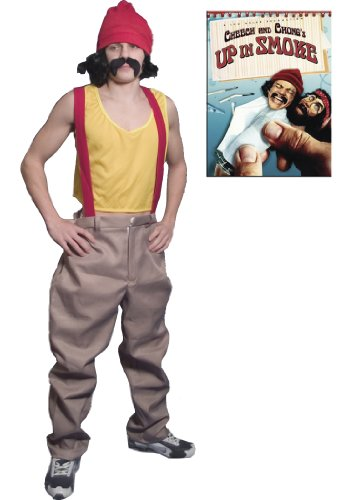 Cheech & Chong Cheech Up in Smoke Movie Deluxe Halloween Costume Set (Adult (Incogneato Cheech And Chong Costumes)