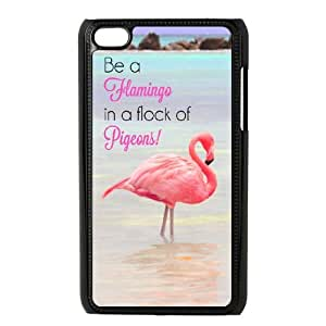 Be A Flamingo In A Flock Of Pigeons iPod Touch 4 Case Black yyfabc-485719