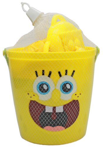 What Kids Want Licensed Sand Bucket Filled SpongeBob -
