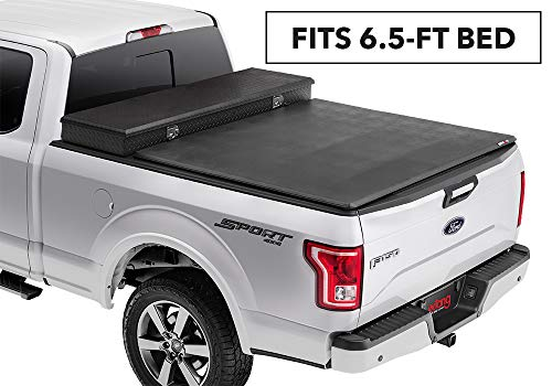 Extang Trifecta Toolbox 2.O Soft Folding Truck Bed Tonneau Cover | 93720 | fits Ford Super Duty Short Bed (6 1/2 ft) 99-16