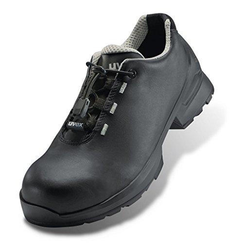 Uvex Sicherheitsschuhe 8553.2 schwarz S3 PUR 44 Schwarz Schwarz