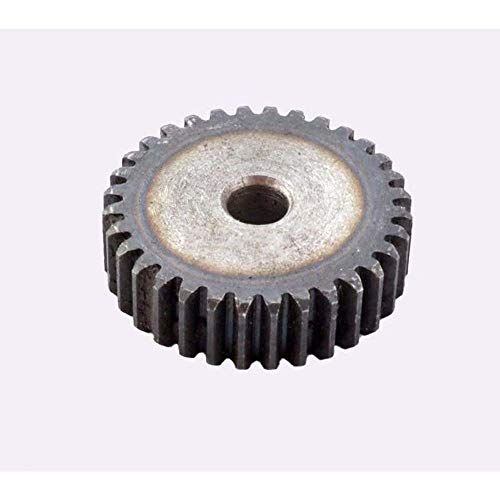 45# Steel Motor Spur Pinion Gear 2Mod 14T Outer Dia 32mm Thickness 20mm x1Pcs ()