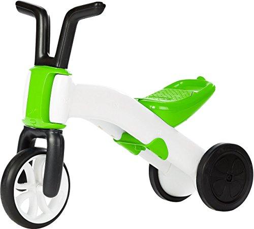 Chillafish Bunzi: 2-in-1 Gradual Balance Bike & Tricycle, Lime (Renewed)