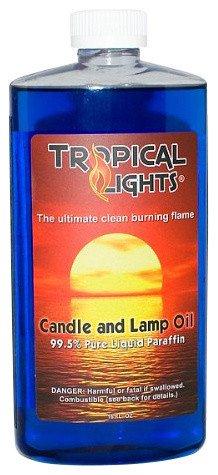 Tropical Lights  16Oz Candle Oil, Ocean Blue