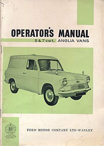 Anglia Vans 5 & 7 cwt. Operator