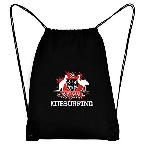Teeburon AUSTRALIA Kitesurfing BLOOD Sport Bag by Teeburon