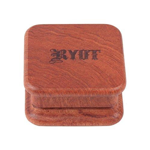 - RYOT 1905 2pc SQUARE Rosewood Grinder