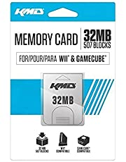 KMD Memory Card, 32MB-White, Wii