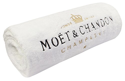 Moet & Chandon Champagne Ice Imperial White Bath Beach Towel 70.86 x 39.37 inches Summer Holiday Accessory