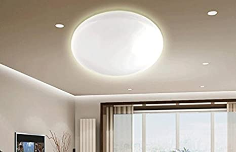 Yuting semplice acrilico forma circolare lampada da soffitto led