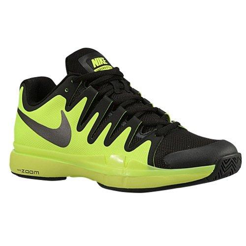 Nike Mens Zoom Vapor 9.5 Tour Tennis Shoes (10 D(M) US, Volt/Black/Dark Grey) (Nike Zoom Vapor Shoes compare prices)