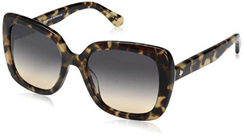 - Kate Spade Women's Krystalyn/s Square Sunglasses, HAVANA/BROWN OCHRE, 53 mm