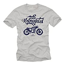 Motorbike Accessories for Men - Vintage CB 550 Motorcycle T-Shirt Design