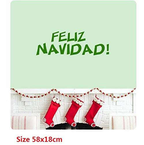 Feliz Navidad Canción Navidad Español Le deseamos una Feliz ...