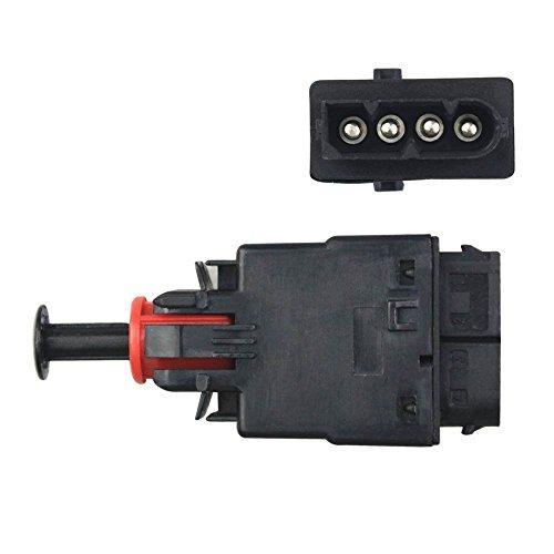 Switch Brake E28 Light (FOLCONROAD 4 Pin Brake Light Switch for 1992-1999 E30 E36 3 Series 1987-1989 E24 E28 5 & 6 Series)