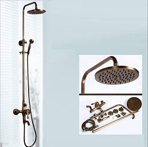KaO0YaN-Shower Europeo Antiguo Cobre Ducha Conjunto De Ducha ...