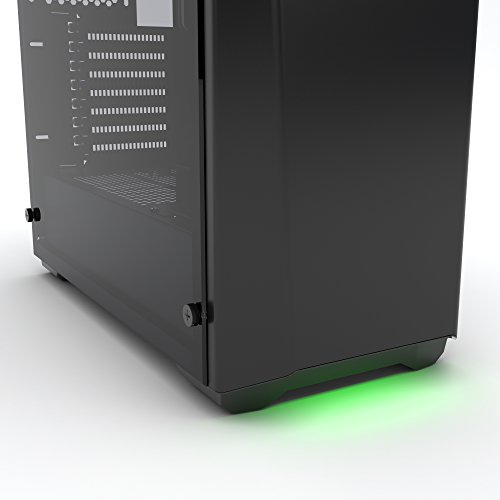Phanteks PH-EC416PTG_BK Eclipse P400 Steel ATX Mid Tower Case Satin Black,''Tempered Glass'' Edition Cases by Phanteks (Image #5)