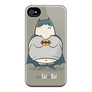 New Design Shatterproof Rgu4004xOwO Case For Iphone 4/4s (too Fat To Bat)
