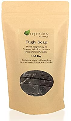 Dead Sea Mud Soap, 1 Pound Bag of Fugly Soap, a Mixture of Banged Up Bars, Soap Ends & Soap Chunks. 100% Natural & Organic Soap.