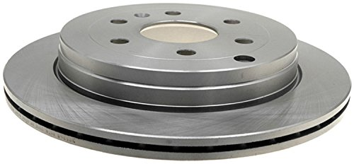 ACDelco 18A2543A Advantage Non-Coated Rear Disc Brake Rotor