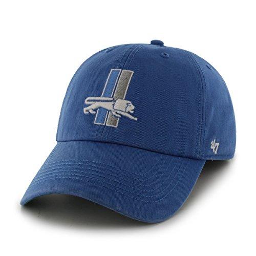 Blue Franchise Hat - NFL Detroit Lions Franchise Fitted Hat, XX-Large, Blue Raz A
