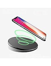 LQ Qi draadloze oplader voor iPhone XS Max Xr X 8 Plus 10W snel draadloos opladen pad voor Samsung Galaxy S10 S9 S8 S7 Note 9 8