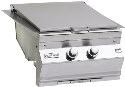 Fire Magic 3288-1 Built-In Double Searing Station with Side Burner