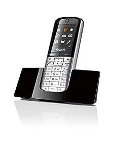 Gigaset SL400H - Teléfono adicional para Gigaset SL400 / SL400A,  ( 500 entradas, TFT, 160 x 128 pixeles ), negro