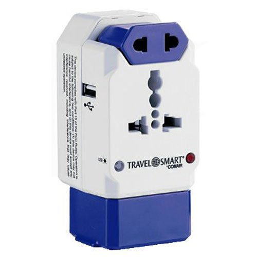 Travel Smart Conair Adapter Outlets