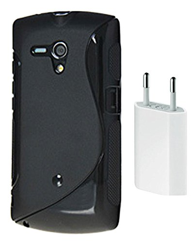 new product cbf11 ed9a4 S Case Grip Back Cover For Sony Xperia neo L MT25i: Amazon.in ...