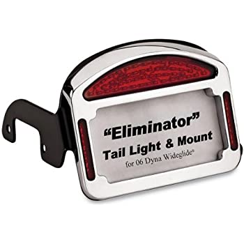 Amazon Com Cycle Visions Eliminator Led T L Plate Chr
