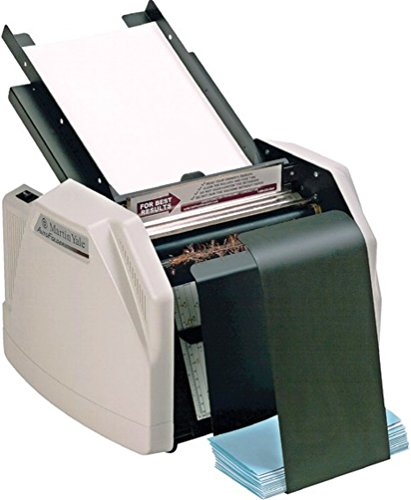 Martin Yale 1501X Paper Folder CV7, 4 Fold Types, 7500 Sheets per hour by MARTIN YALE