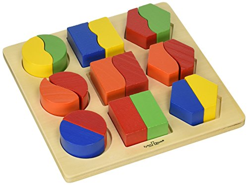 Small World Toys Ryan's Room Wooden Toys  - Sort 'Em Out Shapes Board (World Small Toys Room Ryans)
