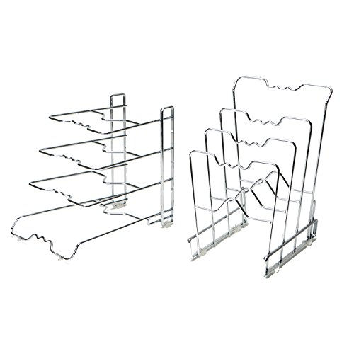 Seville Classics Organizer Racks Chrome-Plated Steel Non-