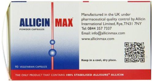 ALLICINMAX Allicin Max 100% Pure Allicin 90vcaps (2 Pack) by Allicin (Image #2)