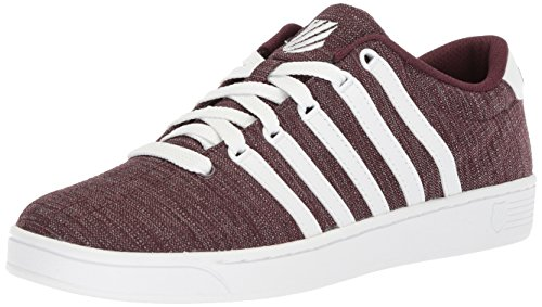 K-swiss Mens Court Pro Ii T Cmf Sneaker Rasin / Wit