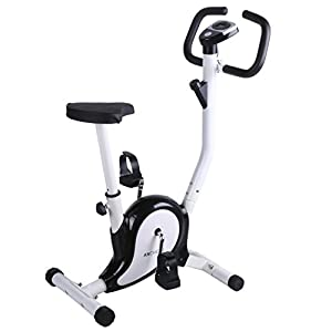 Amazon Com Ancheer Upright Bike Indoor Cycle Trainer
