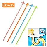 Drain Hair Remover,Drain Snake Clogged Drain Hair Remover Zipit Drain Cleaning Tool Smiling Face Doll Color Random (3pcs)