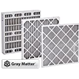 24 x 24 x1 Odor Ban Carbon Pleated Furnace Filter - 12 pack